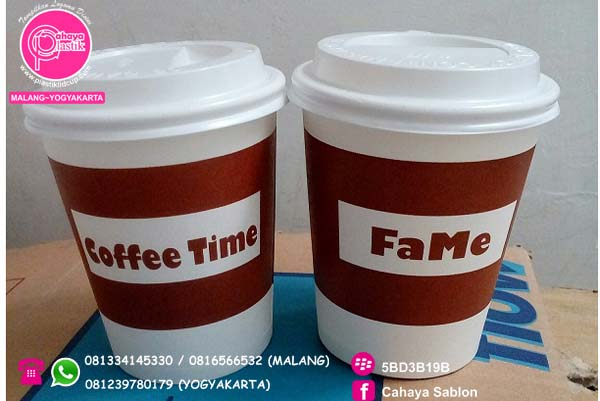 sablon papercup hot 9 oz